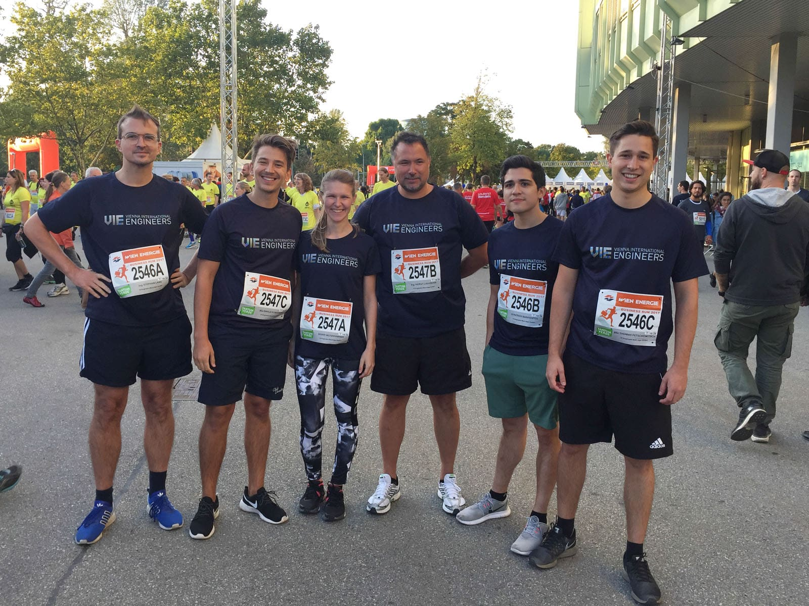 VI Engineers Wien Business Run Team