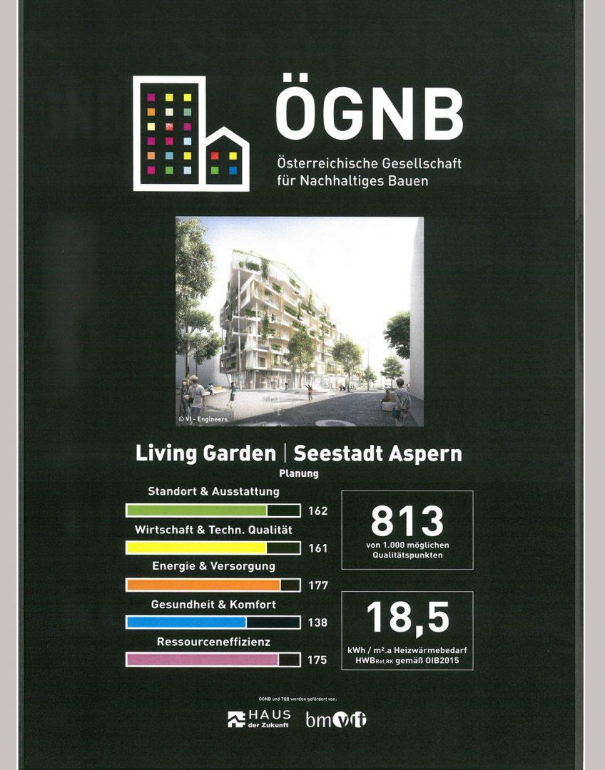 Living Garden Seestadt Wien Klimaaktiv