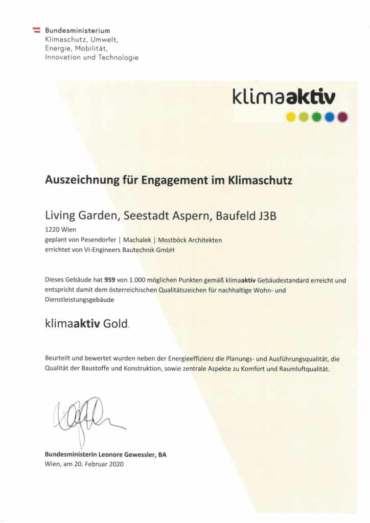 zertifikate auszeichnungen living garden 2
