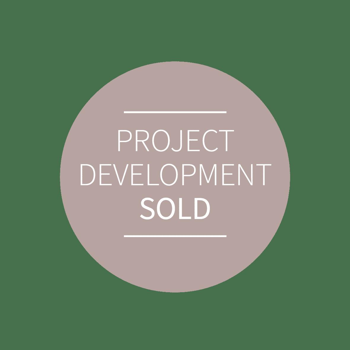 button projectdevelopment sold